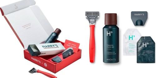 Target: Harry's Men's Starter Shave Set ONLY $5 ($20 Value)