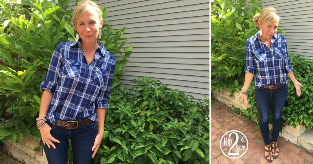 Plaid Cents of Style Top