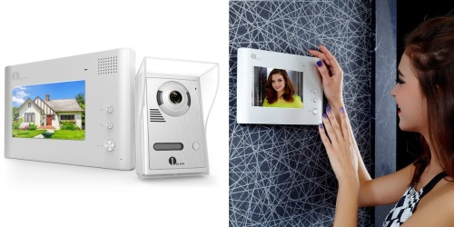 Amazon: 1byone Color LCD Home Security Video Doorbell Only $76.99 Shipped (Reg. $149.99)