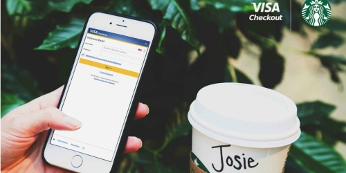Visa Checkout Members: Refer Friends & Earn Up to $25 Starbucks eGift Cards (Check Inbox)