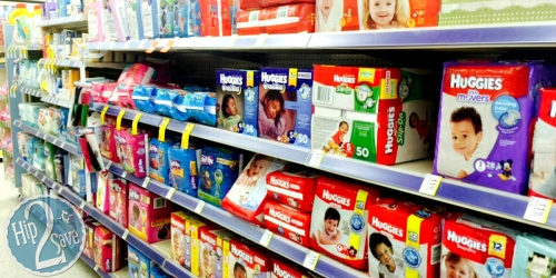 Stock Up on Huggies Diapers & Wipes at Walgreens!