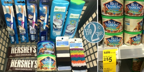 Walgreens Shoppers! Grab 12 Items for Under $9 (Almonds, Chocolate, Hair Products & More)