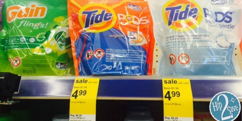 Walgreens: Tide Pods & Gain Flings 12-16 Count Only $2.99