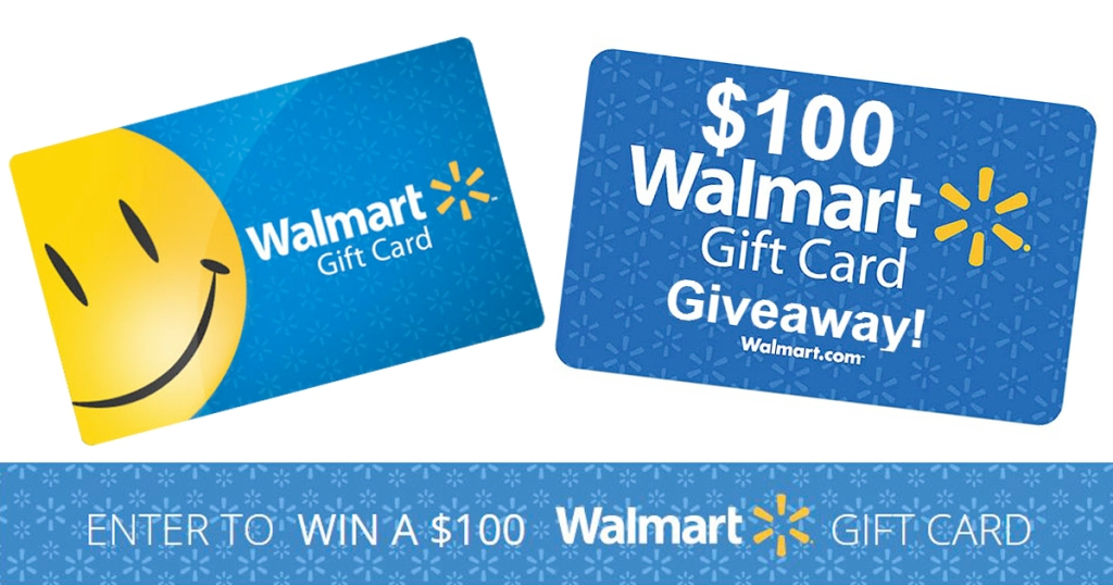 Enter To Win A 100 Walmart Gift Card 750 Winners Hip2save