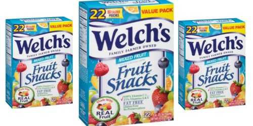 Nice Deals on Welch's Fruit Snacks at Target