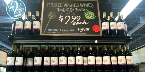Whole Foods Market: Bottles of Three Wishes Wine Possibly ONLY $2.99 Each + More