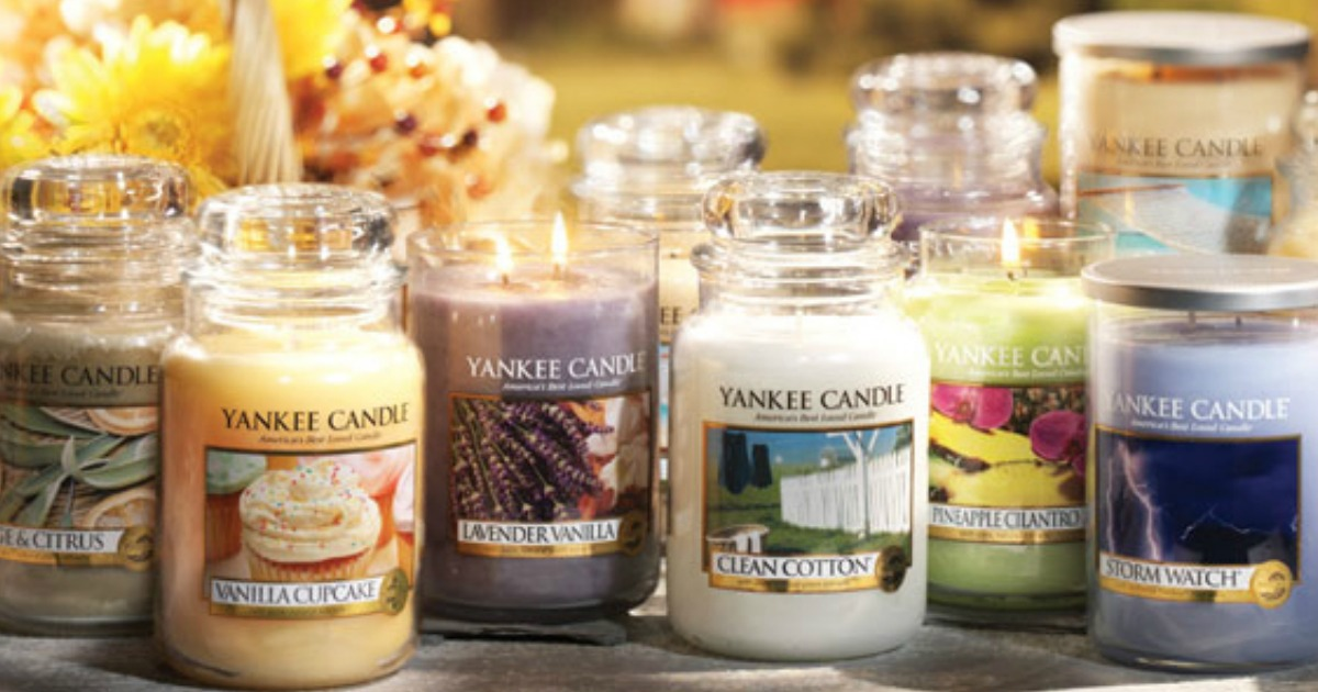 graphic about Yankee Candle $10 Off $25 Printable Coupon named Yankee Candle: $10 off $25 OR $25 off $50 Coupon \u003d High Jar