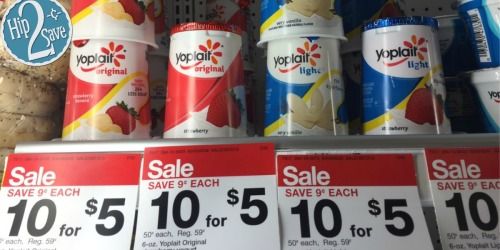 Yoplait Yogurt Cups Only 22¢ at Target