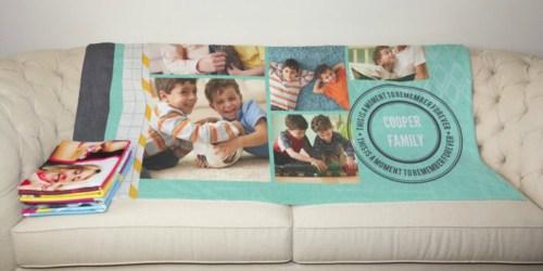 Custom Photo Fleece Blanket ONLY $26.98 Shipped (Regularly $57) – Great Gift Idea