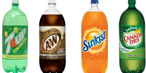 Walgreens: 7UP, A&W, Sunkist & Canada Dry 2 Liter Sodas Only 50¢ Each (Starting 9/18)