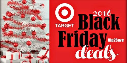 Target: 2016 Black Friday Deals