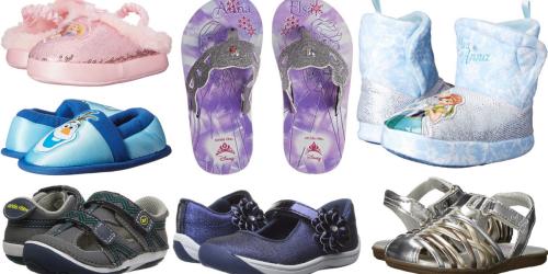 6PM.com: Extra 10% Off = Disney Frozen Slippers $3.78 + Stride Rite Deals