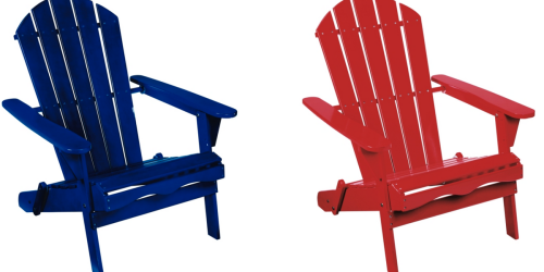 Ace Hardware: Folding Adirondack Chair Only $39.99
