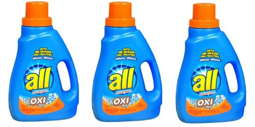 Walgreens: All Liquid Detergent Only $1.89-$1.99
