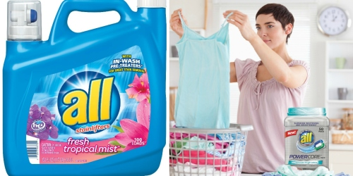 Target: Big Savings on All Laundry Detergent