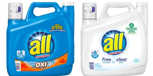 Target.com: BIG Savings on All & Tide Liquid Laundry Detergents Without Leaving Home