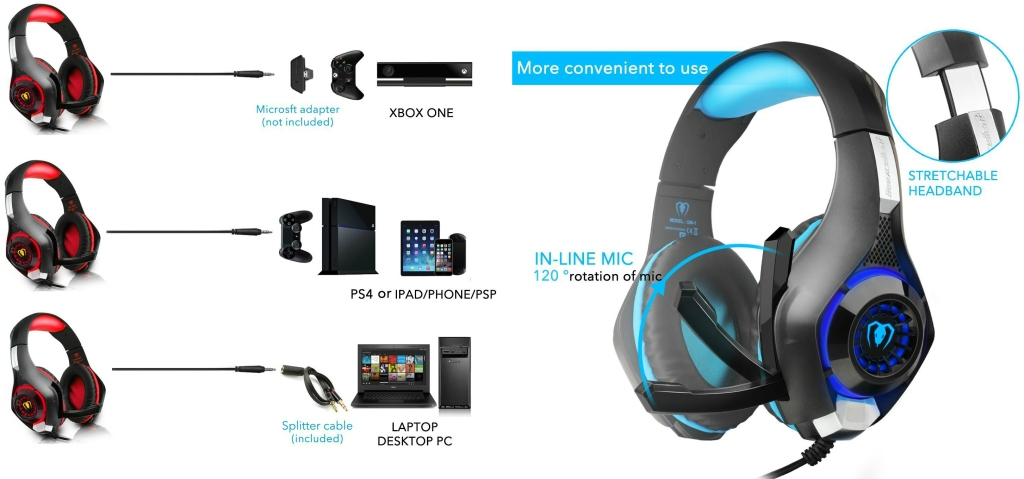Amazon: Gaming Headset w/ Microphone Only $18 (Regularly