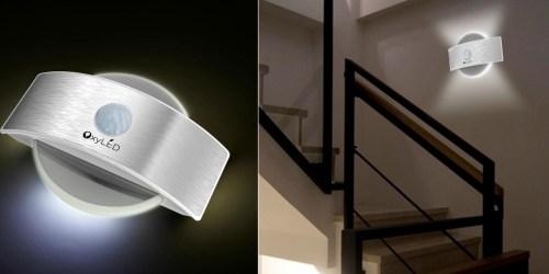 Amazon: OxyLED Rechargeable Stick Anywhere Motion Sensor LED Night Light Just $11.99