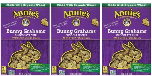 Amazon: Annie's Homegrown Bunny Grahams 7.5oz Boxes ONLY $1 Each Shipped