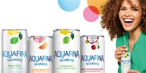 Amazon: 24 Cans of Aquafina Sparkling Water Only $16 Shipped (Just 66¢ Per Can)