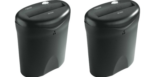Kmart: 6-Sheet Paper Shredder Only $25.49 + Earn $25.25 Shop Your Way Points