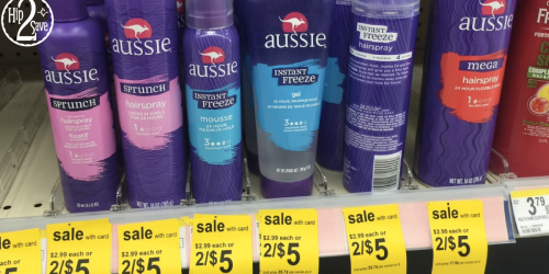 Walgreens: Better Than FREE Aussie Hair Care Products (Just Clip Digital Coupon)