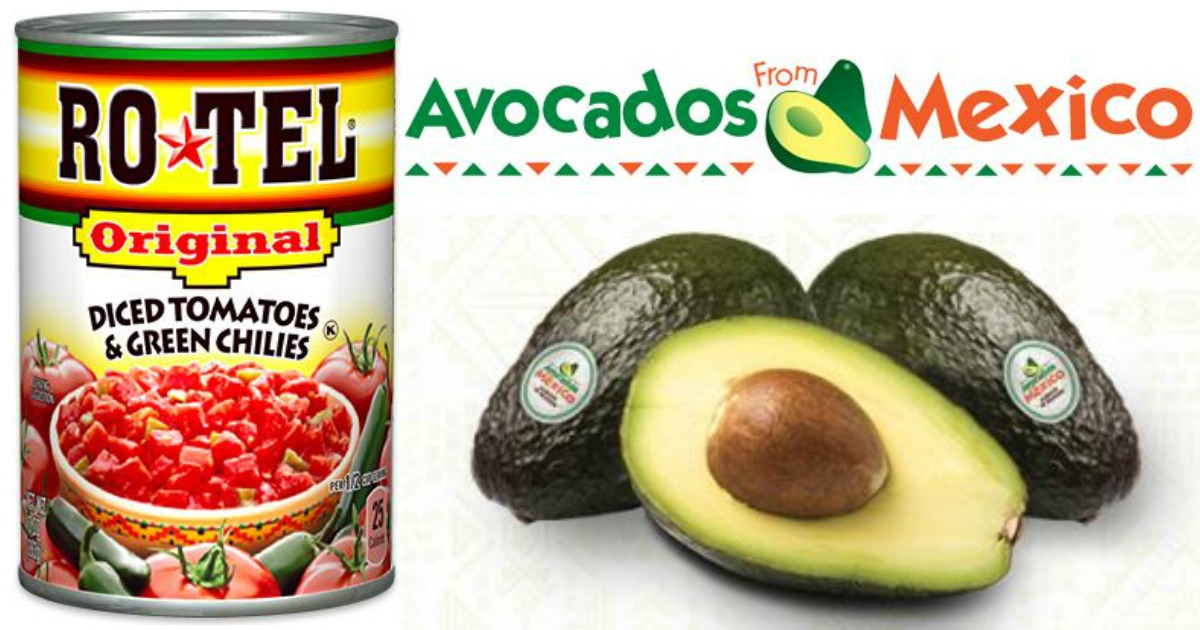 Nice Savings On Avocados Free Rotel Tomatoes At Walmart Target After Checkout 51 Hip2save