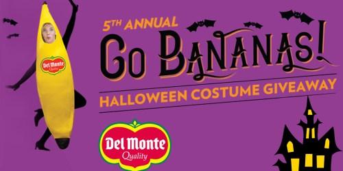 1,000 Win Del Monte Banana Costume