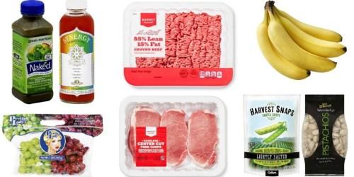 Target Cartwheel: 25% Off Fresh Pork, Fruit, Premium Juices, Healthy Snacks & More