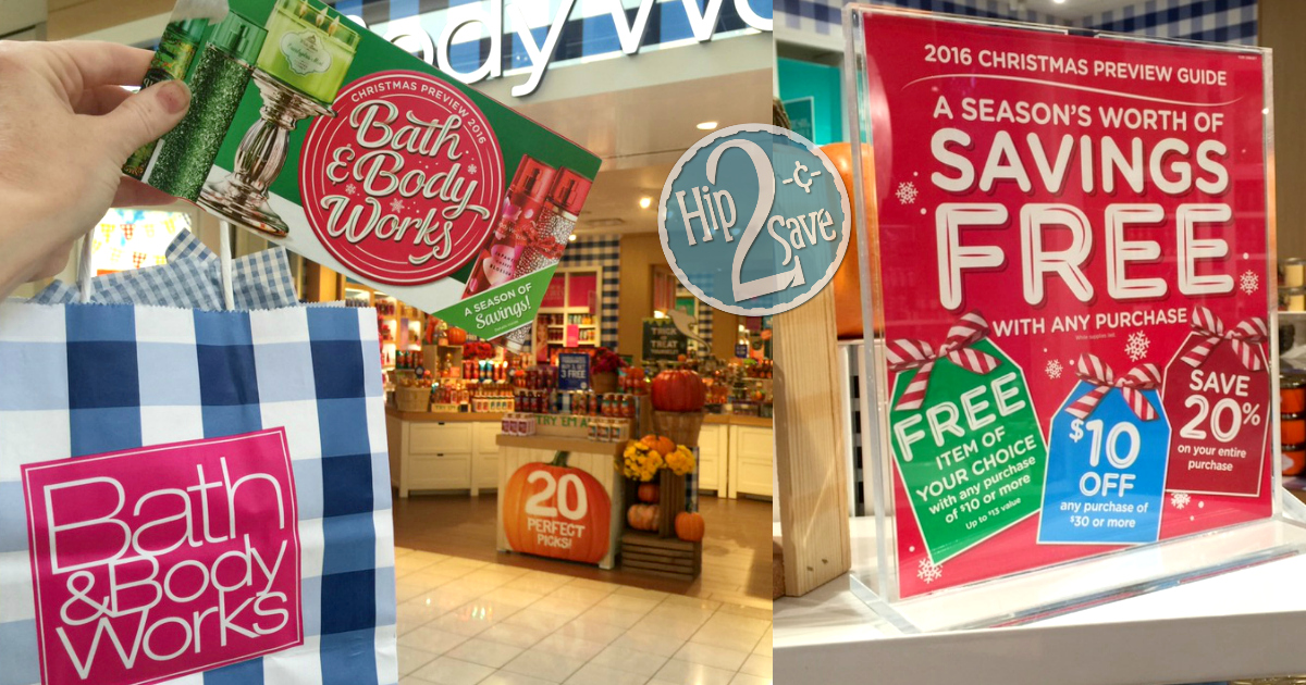 Bath Amp Body Works Free Coupon Booklet W Any In Store