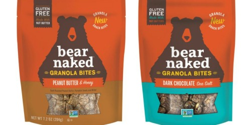 *NEW* $0.75/1 Bear Naked Granola Bites Coupon = Only $1.91 at Walmart (After Ibotta)