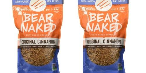 Amazon: Bear Naked Original Cinnamon Protein Granola ONLY $2.36 Shipped