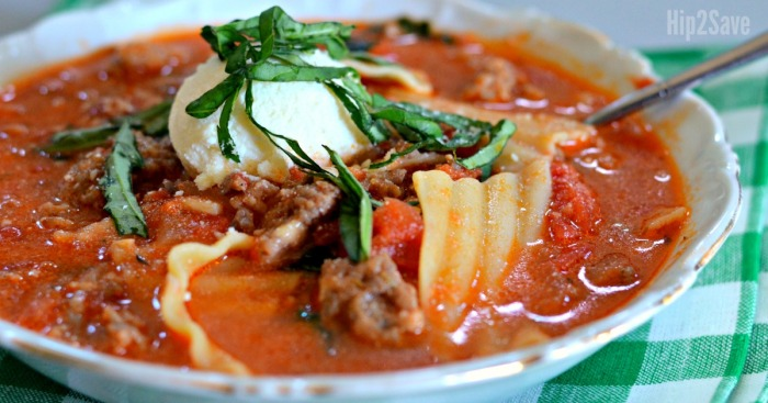 Best Ever Lasagna Soup Recipe (You MUST Try)