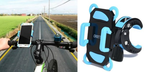 Amazon: Bike Mount Phone Holder ONLY $9.99 (Regularly $30) + More Deals