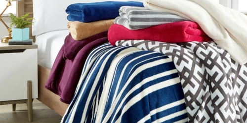 Macy's.com: $20 Off $50 Purchase = 2 Soft Fleece Blankets & 2 Tommy Hilfiger Pillows Just $31.56