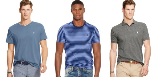 Bon•Ton: Extra 30% Off Purchase = Men's Polo Ralph Lauren Tees Only $13.85 (Reg. $45) + More