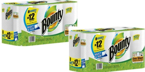 Target: Big Savings on Bounty Paper Towels & Charmin Toilet Paper (After Gift Cards)