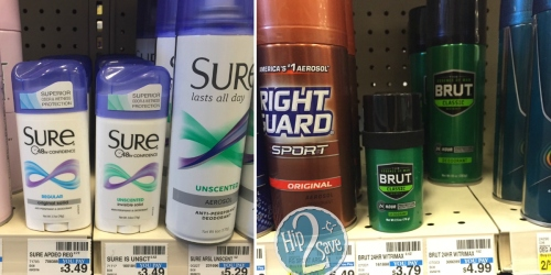 CVS: FREE Sure or Brut Deodorant (Reg. Up to $5.29!)