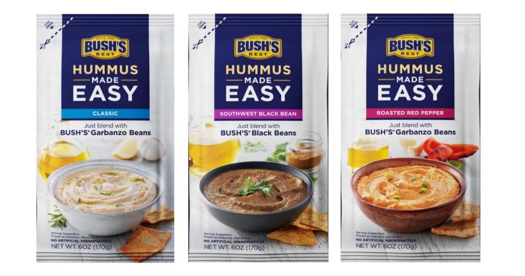 Bush's Hummus Made Easy