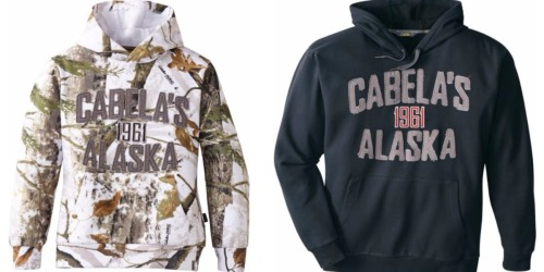 Cabela's: Youth Camo Alaska Hoodie Only $12.88 Shipped (Regularly $49.99) & More