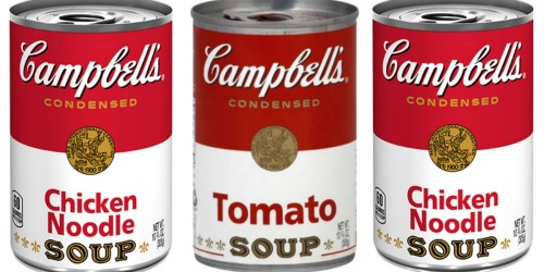 NEW Campbell's Coupons = Chicken Noodle Soup & Tomato 57¢ Each At Target