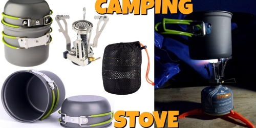 Amazon: Portable Outdoor Camping Stove Just $17.99