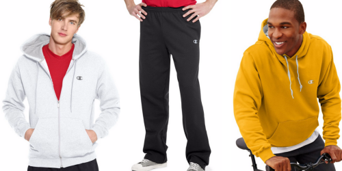 Champion Fleece Hoodies Or Pants ONLY $9.99 Each Shipped