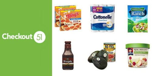 Checkout 51: New Cash Back Offers Coming 9/15 (Save on Avocado's, Pizza, Quaker & More)