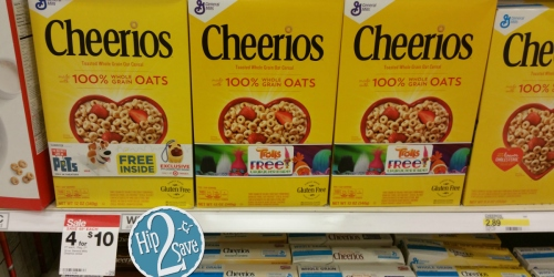 Target: Original Cheerios Cereal Just 62¢ + More