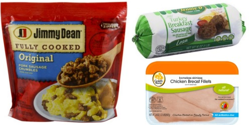 Target Shoppers! Save BIG on Meat (Breakfast Sausage, Fresh Chicken, Bacon & More)