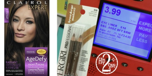 Target: Nice Deals On Clairol Age Defy Hair Color and CoverGirl