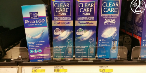 Target: Clear Care Rinse & Go Solution Only 99¢
