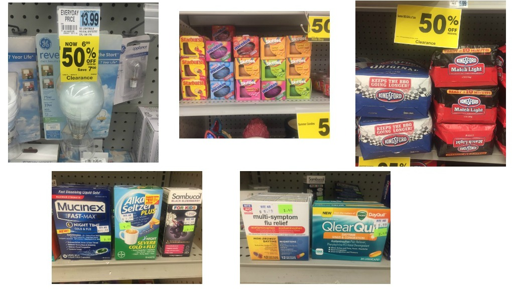 Rite Aid Clearance Products