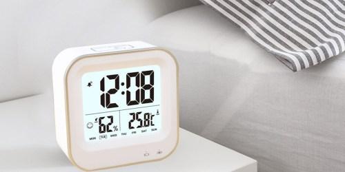 Amazon: Digital Alarm Clock Only $11.99 (Regularly $29.99) – Offers Nightlight Feature